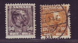 DENMARK 1904-05 50o And 100o - Denmark