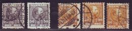 DENMARK 1904-05 50o And 100o USED SELECTION - Denmark