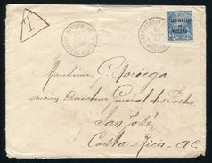 FRENCH PACIFIC WALLIS ET FUTUNA FIJI COSTA RICA TAXED MAIL - Europe (Other)