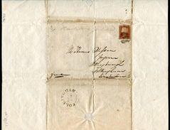 GB CHEMIST'S CIRCULAR 1846 LONDON BRIDGE FOLKINGHAM LINCOLNSHIRE - Kenya, Uganda & Tanganyika