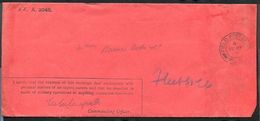 GREAT BRITAIN ARMY POSTAL STATIONERY PRIVILEGE ENVELOPE WORLD WAR ONE - Postmark Collection