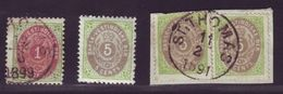 DANISH WEST INDIES 1896-1902 Perf 12,5 - Denmark