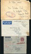 GREAT BRITAIN ROYAL AIR FORCE WORLD WAR TWO PRAGUE, ADEN, IRAQ - Postmark Collection