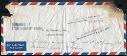 AIR CRASH JAPAN ITALY GREAT BRITAIN DOUBLE CACHET 1954 - Japan