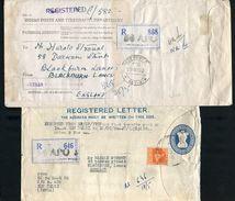 INDIA USED ABROAD STATIONERY UNITED NATIONS CONGO 1962 - India