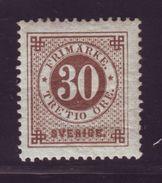 SWEDEN 1886-1891 30o - Sweden