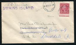TOKELAU ISLANDS U.S. USED ABROAD U.S. SAMOA SWAINS ISLAND - Postal History