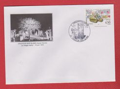 Env --  Oradour Sur Glane  --  Cinquentenaire 10 Juin 1994 - Marcophilie (Lettres)