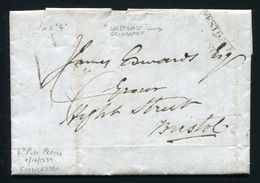 GREAT BRITAIN UNIFORM FOUR PENNY POST GLOUCESTER 1839 - Postmark Collection