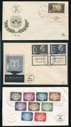 ISRAEL 1951/1952 FDCs INCLUDES RARE 1000pr - Unclassified