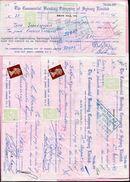 AUSTRALIA VICTORIA GB CHEQUES 1969/70 STAMP DUTY - 1850-1912 Victoria