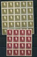 AUSTRIA HUNGARY MILITARY POST BLOCKS 1915 - Austria
