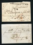 FRANCE ITALY NICE NIZZA ITALIE PAR ANTIBES 1820/1837 - Europe (Other)