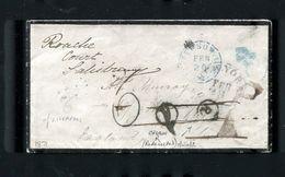 UNITED STATES 1871 TRANSATLANTIC JEFFERSON GB LIVERPOOL LONDON CROWN REDIRECTED - Postal History