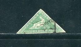 CAPE OF GOOD HOPE 1863 DE LE RUE 1 SHILLING BRIGHT EMERALD GREEN - South Africa (...-1961)