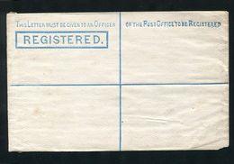GREAT BRITAIN STATIONERY VICTORIA REGISTERED SPECIMEN - Postmark Collection
