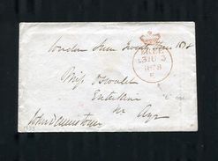 GREAT BRITAIN SCOTLAND AYRSHIRE LONDON FREE 1838 - Postmark Collection