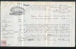 LEEWARD ISLANDS ANTIQUA SHIPPING MUSCOVADO SUGAR 1894 - Leeward  Islands