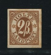DENMARK LOCAL CITY STAMP 1870 HOLTE No.1 - Denmark