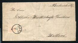 AUSTRIA 1858 LAUN ENTIRE LETTER - Austria