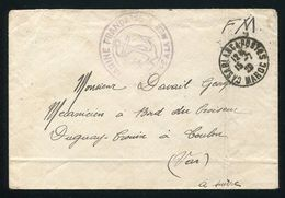 MOROCCO MARITIME MARINE FRANCHISE CASABLANCA 1929 SHIP ANCHOR - Morocco (1956-...)