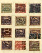 CZECHOSLOVAKIA 1918 1st ISSUE AMAZING MISPRINTS - Czech Republic
