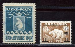 GREENLAND POLAR BEARS 1916-37 - Greenland