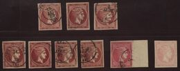 GREECE 1882 COLOUR CHANGE 20 LEP NICE RANGE - Greece