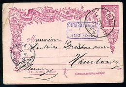 TURKEY/SYRIA 1902 STATIONERY CARD - Turkey