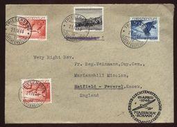 LIECHTENSTEIN 1946 GLIDER MAIL COVER - Liechtenstein