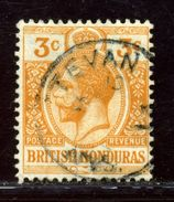 BRITISH HONDURAS SAN ESTEVAN POSTMARK - British Honduras (...-1970)