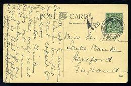 SIERRA LEONE PLYMOUTH PAQUEBOT 1913 - Sierra Leone (...-1960)