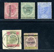 MALAYAN STATES SELANGOR 1889-1900 - Great Britain (former Colonies & Protectorates)