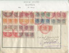 SPAIN TERRITORIES OF GULF OF GUINEA MADAGASCAR UPU SPECIMENS KING ALFONSO 13th - Spain