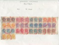 SPAIN GUINEA MADAGASCAR UPU SPECIMENS KING ALFONSO 13th 1922 - Spain