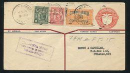 PANAMA STATIONERY BIRD EAGLE CURACAO FIRST FLIGHT 1929 - Panama