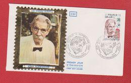 Env 1 Er Jour  -- Albert Schweitzer  --  11 Janv 1975 - FDC