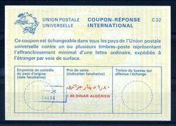 ALGERIA INTERNATIONAL REPLY COUPON - Algeria (1962-...)