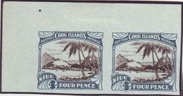 NEW ZEALAND NIUE 4d PROOFS 1932 - Unclassified