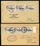 SIERRA LEONE MARITIME QE2 - Sierra Leone (...-1960)