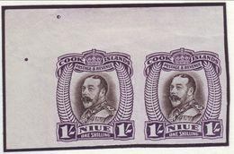 NEW ZEALAND-NIUE 1/- PROOFS 1932 - Unclassified