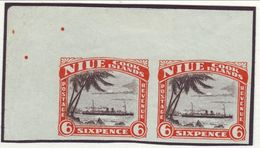NEW ZEALAND-NIUE 6d SHIP PROOFS 1932 - Unclassified