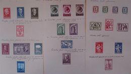 BELGIUM GREAT STAMP COLLECTION 1945/58 - Belgium