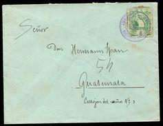 GUATEMALA RAILWAY QUETZAL BIRD TPO SAN NICOLAS 1902 - Guatemala