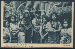 PANAMA STATIONERY NATIVE INDIANS SAN BLAS 1939 - Panama