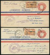 PANAMA FIRST FLIGHT STATIONERY PANAM 1929 COAT OF ARMS EAGLE - Panama