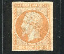 FRANCE NAPOLEON 1853 40c ORANGE MINT - Europe (Other)