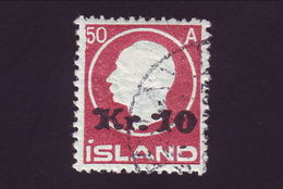 ICELAND 1925 10k FINE USED - Iceland