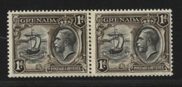 GRENADA GEORGE V COIL JOIN PAIR SHIPS - Grenada (...-1974)