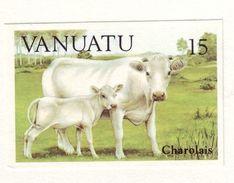 VANUATU CATTLE - RUNNING PROOFS SET - Vanuatu (1980-...)